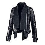 VSCT Kunstlederjacke Damen schwarz