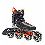 K2 Radical100M Fitness Skates Herren schwarz/orange