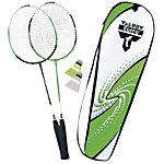 Talbot-Torro 2 Attacker Badminton Set grün/weiß