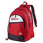 Wilson Tour Team Tennisrucksack rot/weiß