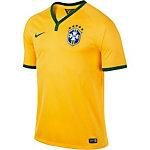 Nike Fußball Heimtrikot Brasilien Herren gelb/grün