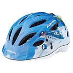ALPINA Gamma 2.0 Flash Fahrradhelm Kinder blau/weiß