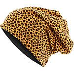 MasterDis Jersey Printed Beanie leopard/schwarz