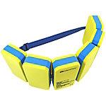 AQUATICS Schwimmgürtel Schwimmhilfe blau/gelb