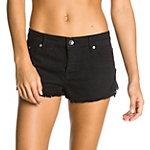 Roxy Breking Crochet Shorts Damen schwarz