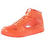 Lacoste Defuse Mid Sneaker Damen neonorange