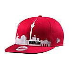 New Era 9fifty Berlin Skyline Cap rot/weiß