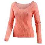 Neighborhood Strickpullover Damen apricot