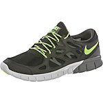 Nike Free Run 2 Sneaker Herren schwarz/limone