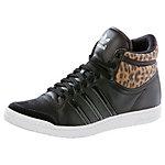 adidas TopTen Hi Sleek Sneaker Damen schwarz/leopard