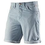 BLEND Shorts Herren denim/weiß
