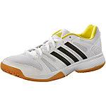 adidas Volley Ligra W Volleyballschuhe Damen weiß/gelb