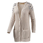 TOM TAILOR Strickjacke Damen beige
