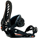 Nitro Snowboards Pusher Snowboardbindung schwarz