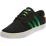 adidas Seeley Textile Canvas Sneaker schwarz/grün