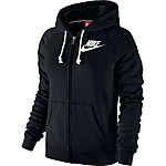 Nike Sweatjacke Damen schwarz