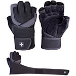 Harbinger Training Grip Wrist Wrap Fitnesshandschuhe schwarz