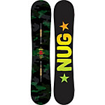 Burton Nug Flying V Freestyle Board schwarz/grün