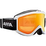 ALPINA Smash 2.0 Skibrille weiß/schwarz