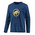 Mammut Snow Printlangarmshirt Herren dunkelblau/gelb