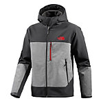 The North Face Bionic Hoodie Softshelljacke Herren schwarz/grau