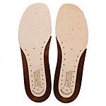 MEINDL Schuheinlage Leder Einlegesohlen braun