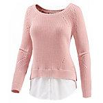 TOM TAILOR Sweatshirt, rose XL Strickpullover Damen rose