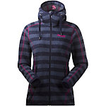 Bergans Humle Strickfleece Damen navy/gestreift