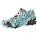 Salomon SPEEDCROSS 3 Laufschuhe Damen grau/mint