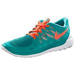 Nike Free 5.0 Laufschuhe Damen grün/orange