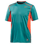 Nike Hypercool fitted SS Funktionsshirt Herren grün/orange