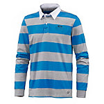 unifit Poloshirt Herren blau/grau