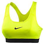 Nike Pro Classic Sport-BH Damen neongelb