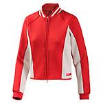 adidas Polyjacke Damen rot/weiß