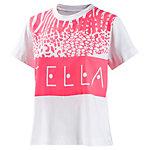 adidas T-Shirt Damen weiß/neonpink