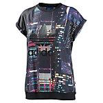 adidas T-Shirt Damen schwarz/bunt