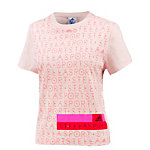 adidas T-Shirt Damen rose