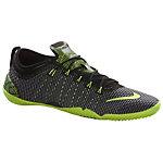 Nike Free 1.0 Cross Compete Fitnessschuhe Damen schwarz/neongrün