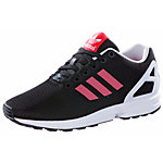 adidas ZX Flux Sneaker Damen schwarz/rot