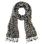 REPLAY Schal Damen schwarz/weiß