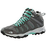 The North Face Sakura Mid GTX Wanderschuhe Damen grau/mint