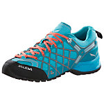 SALEWA WS Wildfire Vent Zustiegsschuhe Damen blau/orange