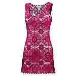 LingaDore Croched Dress Kurzarmkleid Damen fuchsia
