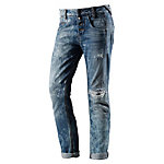 Fornarina Sampey Boyfriend Jeans Damen destroyed denim