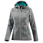 The North Face Saas Fee Strickfleece Damen hellgrau