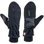 LEKI WS Fleece Double Outdoorhandschuhe schwarz