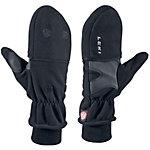 LEKI WS Fleece Double Outdoorhandschuhe schwarz