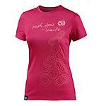 Rewoolution Funktionsshirt Damen pink/weiß