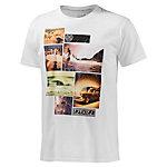 Ezekiel Boys of Summer Slim Printshirt Herren weiß