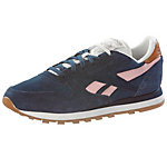 Reebok CL LEATHER SUEDE Sneaker Damen navy/rose
